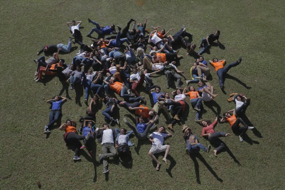 Encontro Nacional da rede Engajamundo, 2016. O Engajamundo trabalho com formação, mobilização e empoderamento de jovens em todo o Brasil. Os Encontros Nacionais da rede, que acontecem todo ano, são um momento de aprendizagem prática sobre ações ativistas.