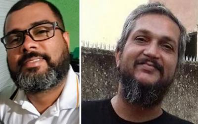 João Marcelo Trindade e Luiz Cláudio (Lula) de Melo, do Somos Todos Muribeca