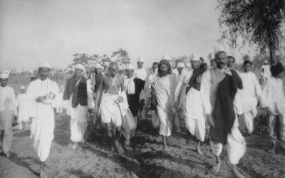 Marchas longas: movimento, percurso e destino