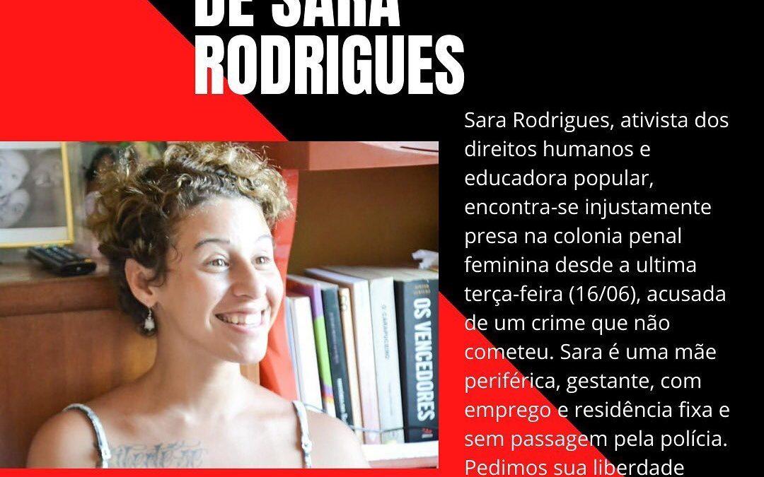 #AlertaAtivista: Atualizações sobre o caso Sara Rodrigues