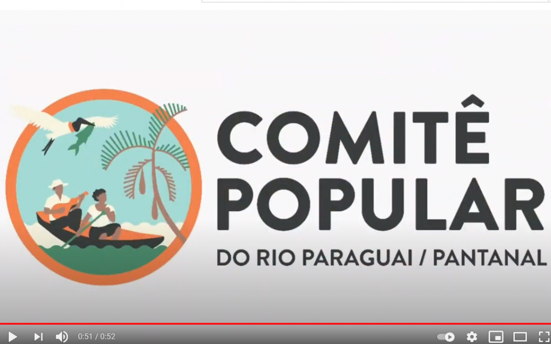 VÍDEO: Comitês populares ocupam o Rio Paraguai em protesto contra hidrovia e portos